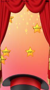 Schermata stelle